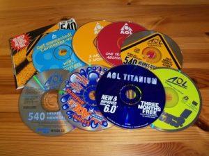 free aol discs